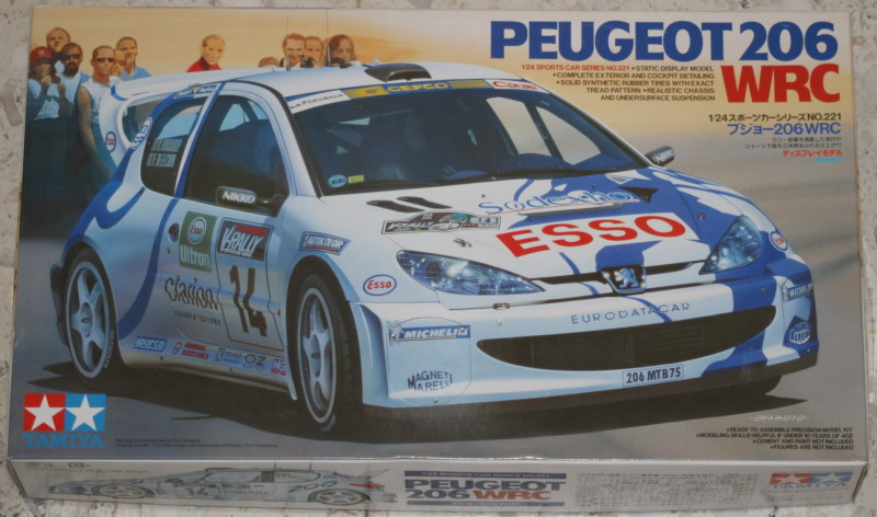 [Tamiya 1/24] Peugeot 206 WRC '00 206_00