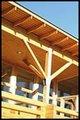 image toit maison bois