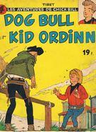 Image couverture album BD kid-ordinn cowboy debout dans rue