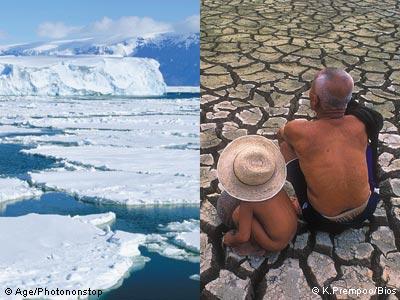 Image iceberg-banquise devenue désert