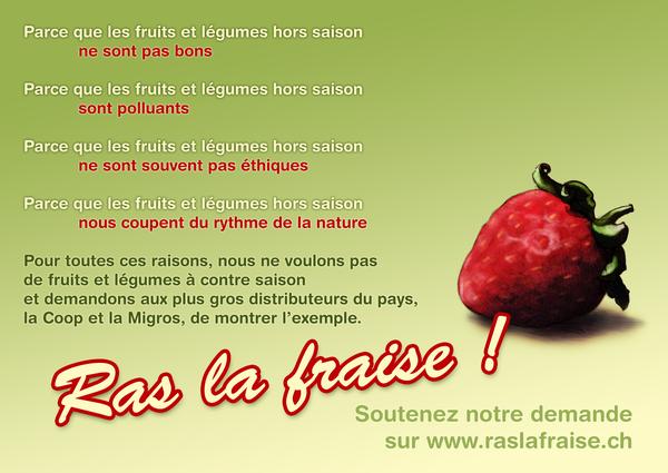 Ras la fraise