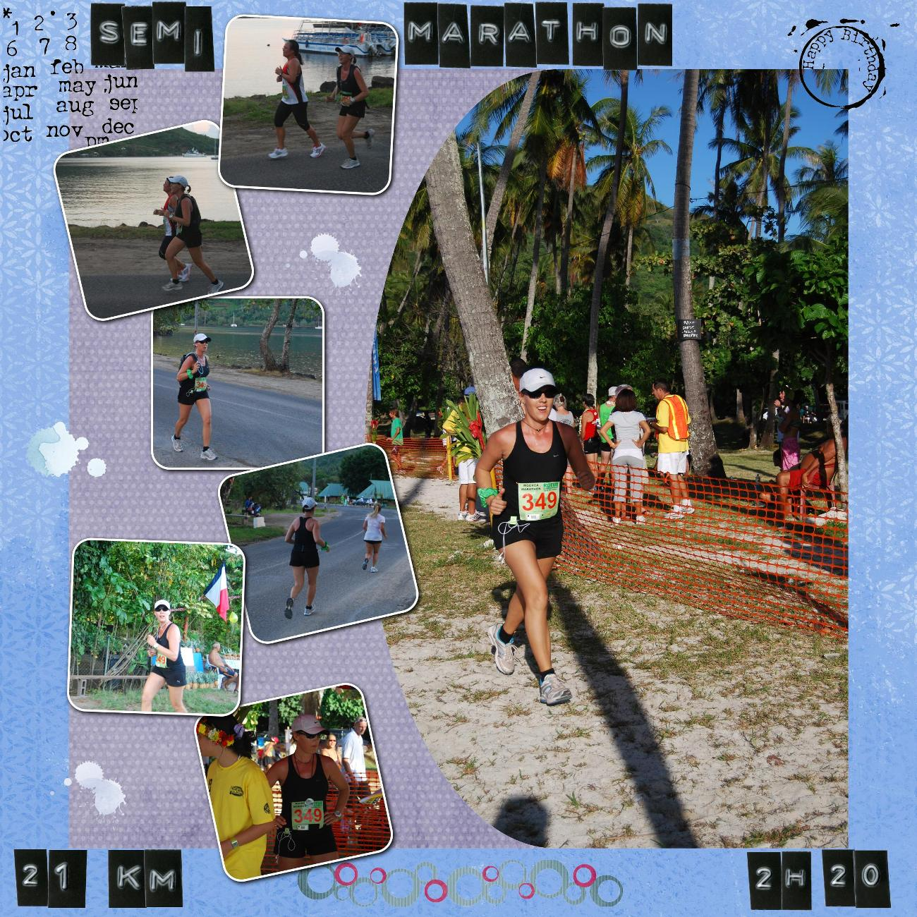 Semi-Marathon de Moorea 2010