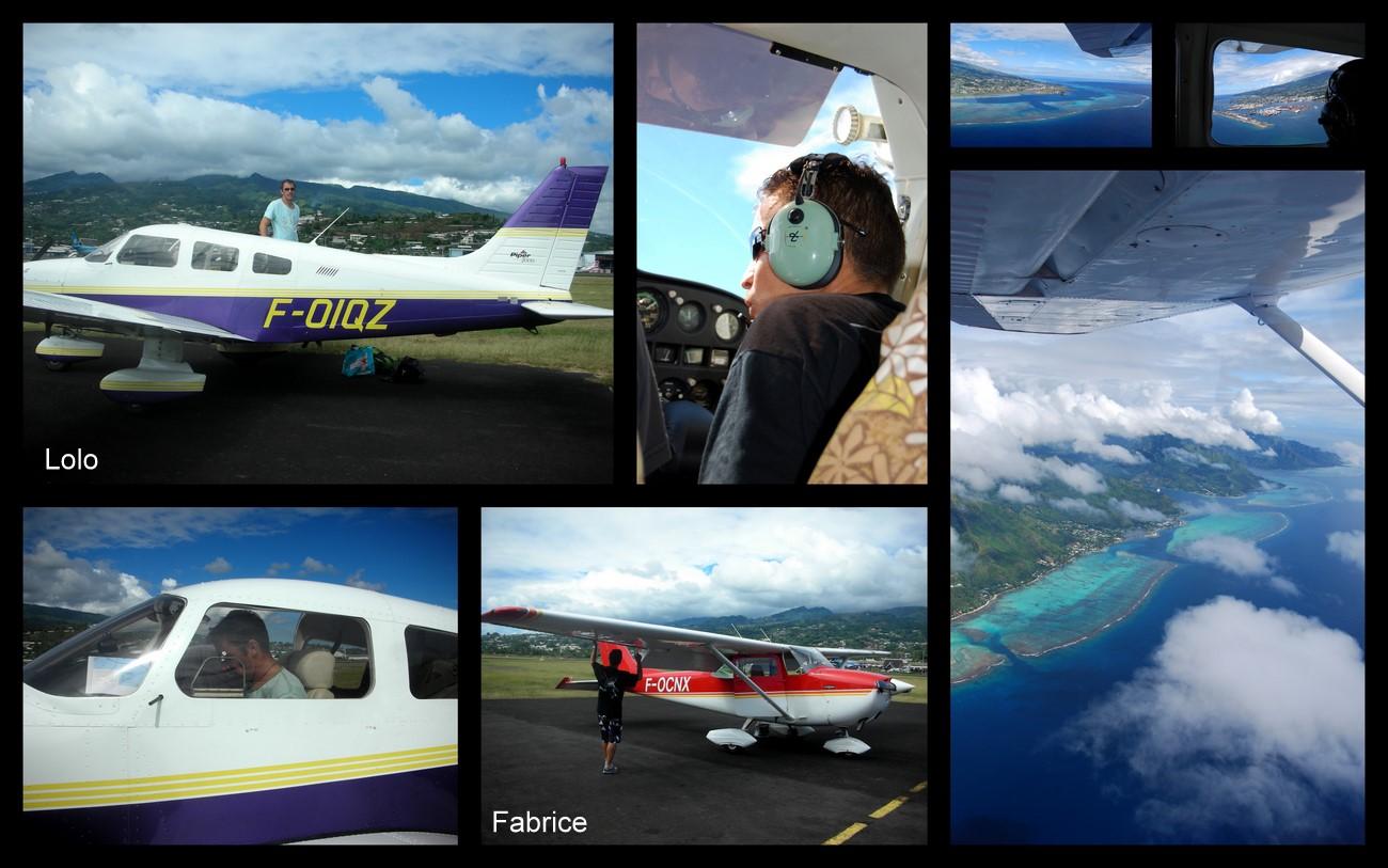 Week-end aéronautique à Tahaa