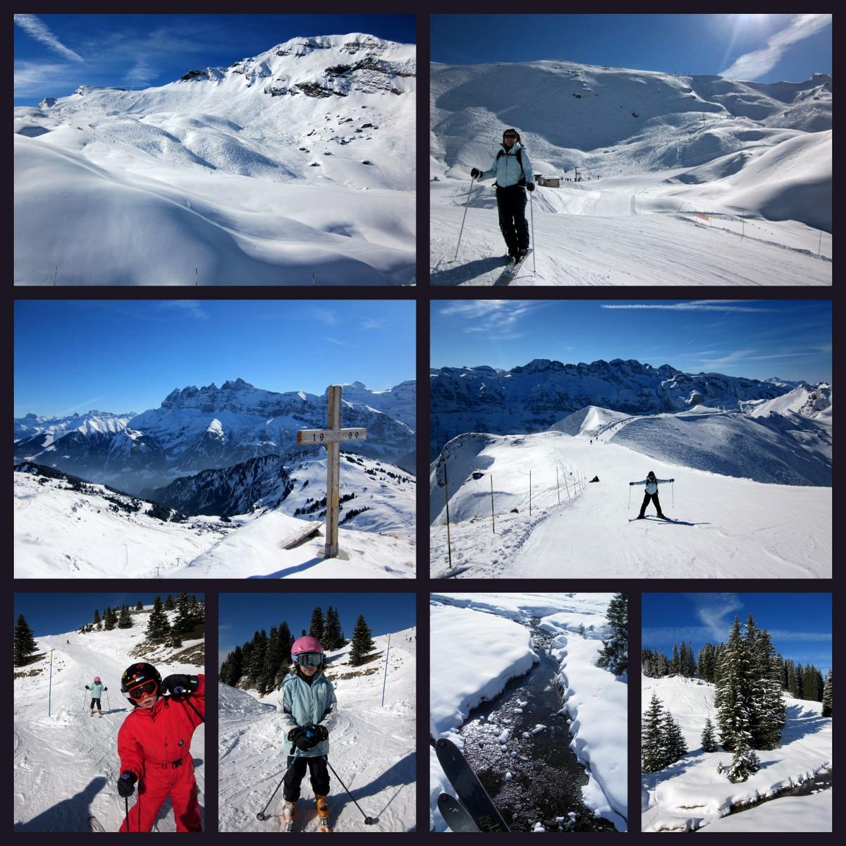 Vacances de ski à Châtel (Haute-Savoie)...