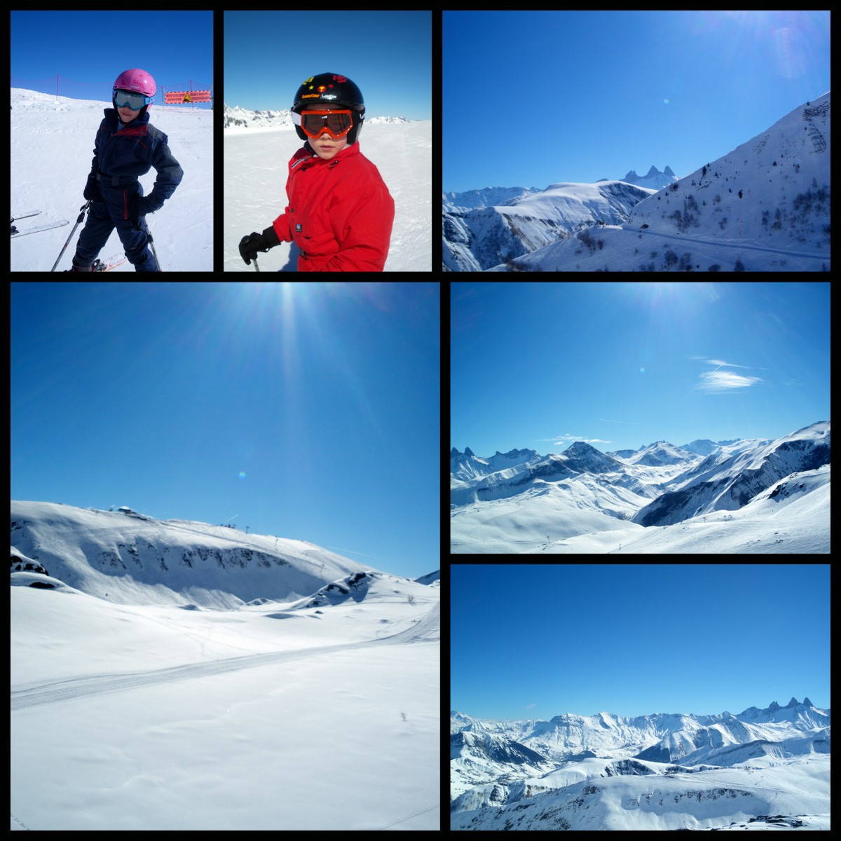 Les Touv's à la neige...
