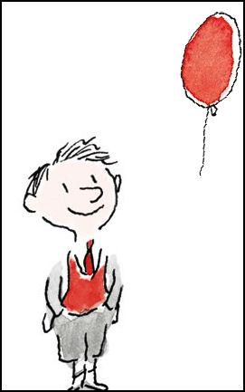 Image-Le Petit Niolas-mains dans poche et balon rouge