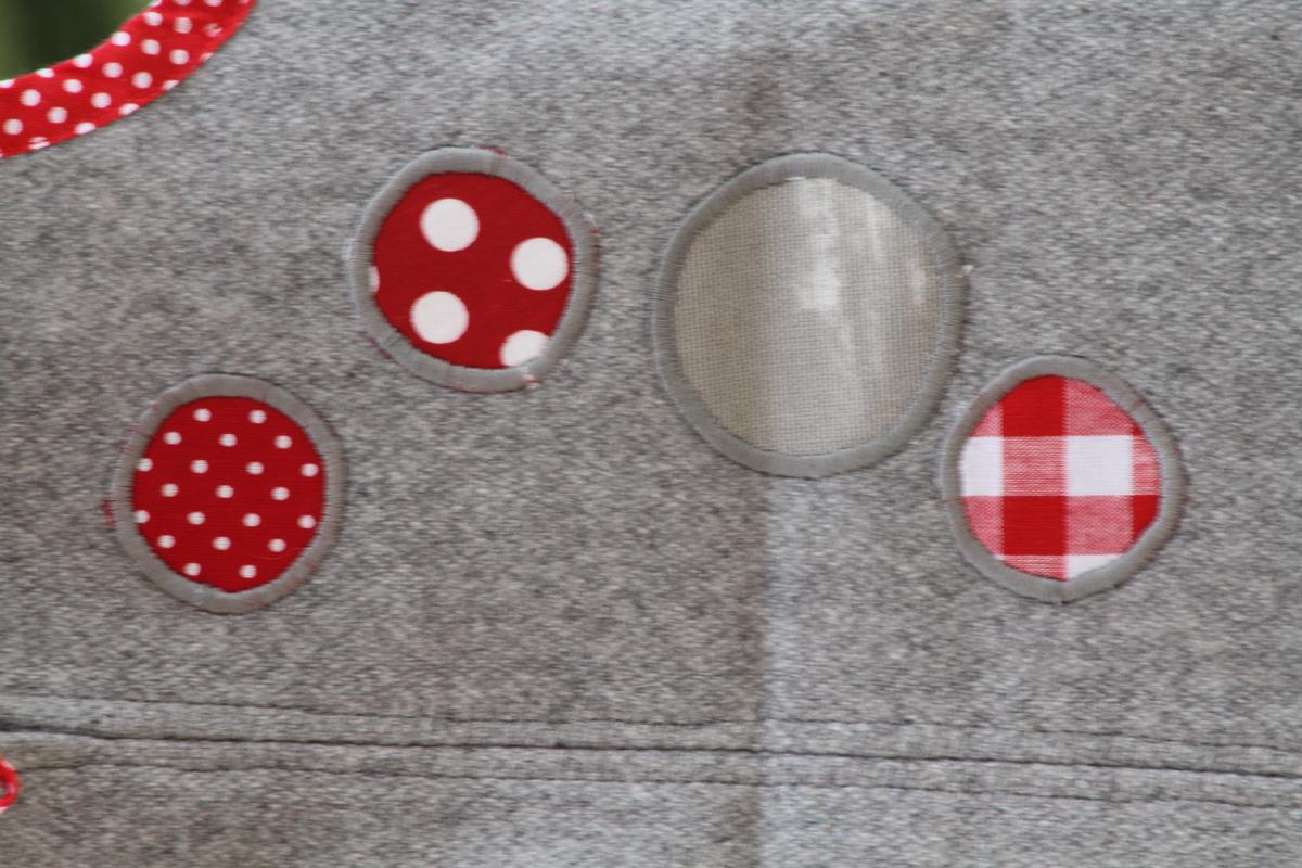 Robe lapin detail dos