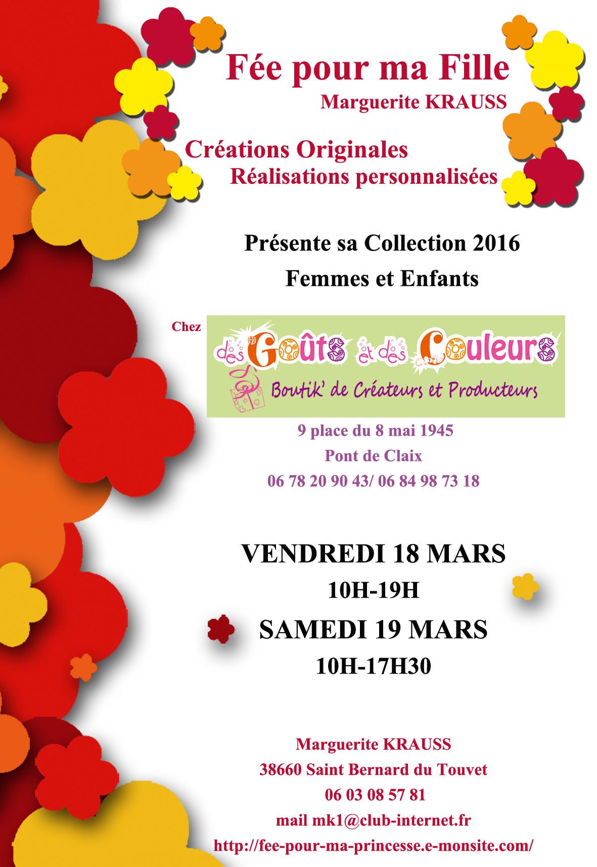 evenements Mars 2016