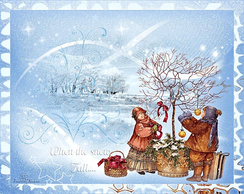 Kalanne-When the snow fall