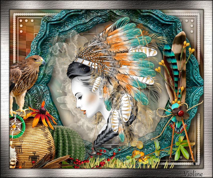 MES CREATIONS à mettre sur Monde Graphisme Creachou110719_DefiViolineJournalierN331