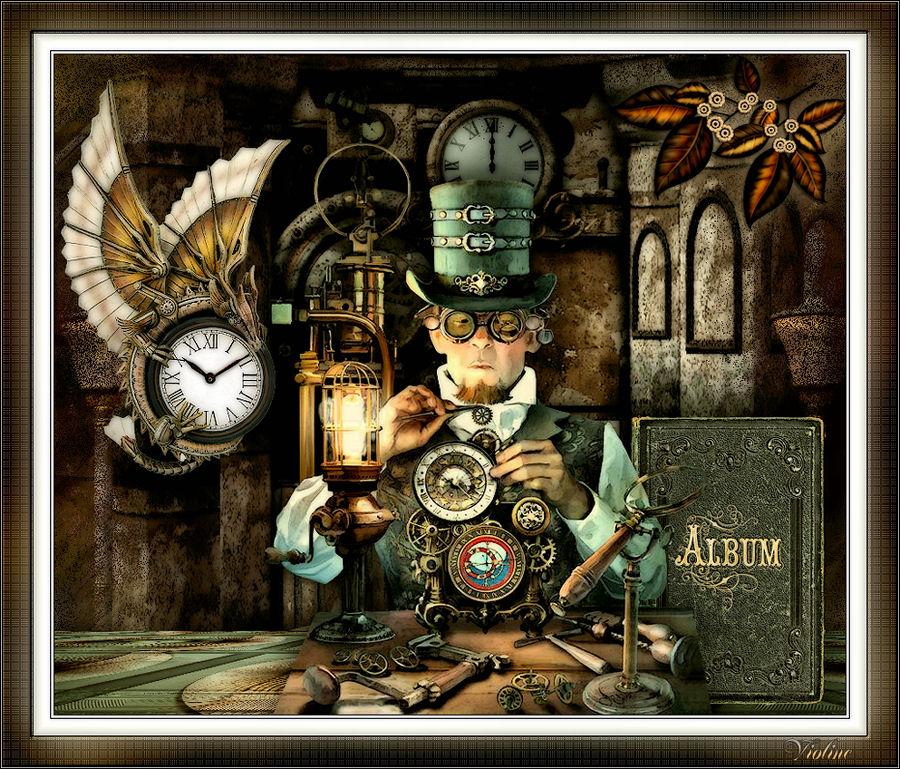 MES CREATIONS à mettre sur Monde Graphisme Creachou170320_Challenge_Fairy_Steampunk