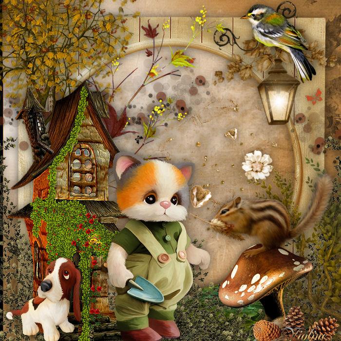 MES CREATIONS à mettre sur Monde Graphisme Creachou251019_DEFI_N_104_-_Welcome_Autumn