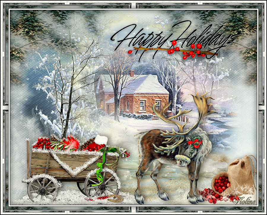 MES CREATIONS à mettre sur Monde Graphisme Creachou081219_Happy_Holidays