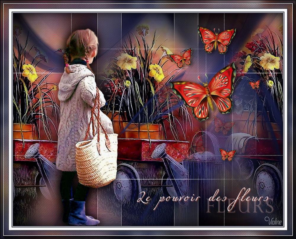 Violine - Ma Galerie perso - Page 56 Creachou140620_Le_pouvoir_des_fleurs